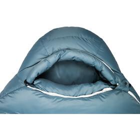 Grüezi-Bag Biopod Down Hybrid Ice Cold 180 Saco de Dormir, azul